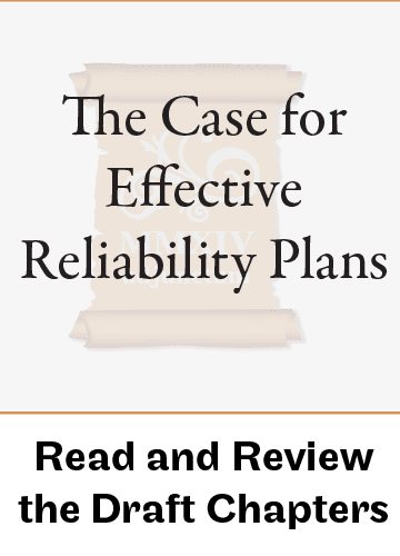 Reliability Engineering Management (working title)