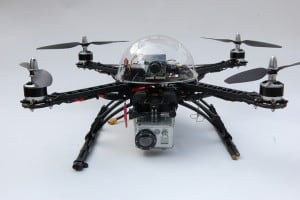 FPV quadcopter by Steve Lodefink