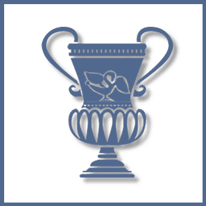 Dare to Know Business logo old fancy Greek vase