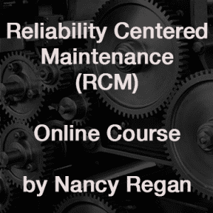 Online RCM course logo