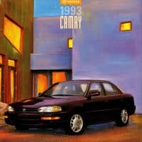Recall of the 1993 Toyota Camry