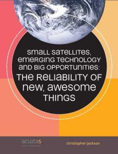 Satellite Reliability paperback cover