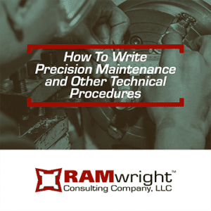 course logo for How to Write Precision Maintenance and Other Technical Procedures