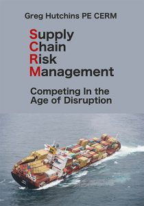 Cover for Supply Chain Risk Management book